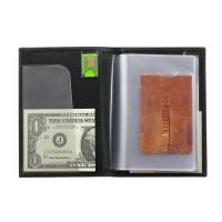 Бумажник водителя мужской А-ОВ-2 малка черный