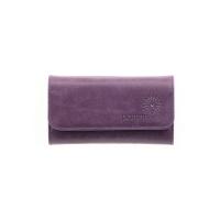 Ключница кожаная  С-КС друид фиолетовый