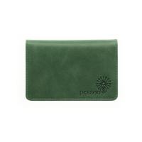Визитница для своих визиток  С-ФСВ-5 друид зеленый