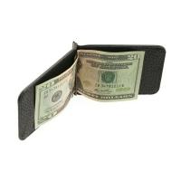Зажим для денег  А-ОК-М малка черный